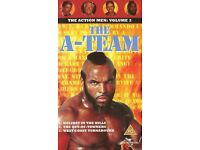 THE A-TEAM: THE ACTION MEN: VOLUME 2 PAL VHS in MINT CONDITION