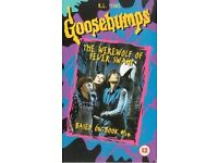 WANTED: Goosebumps - The Werewolf Of Fever Swamp UK VHS Tape