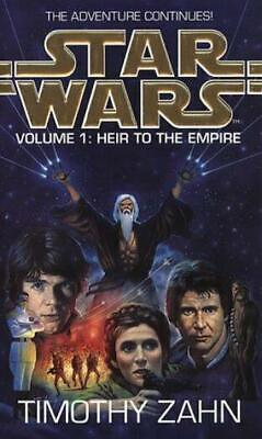 Star Wars - Volume 1: Heir to the Empire, Zahn, Timothy, Good Condition Book, IS