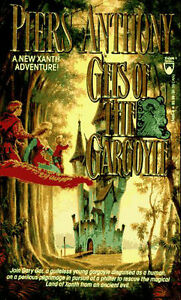 Piers Anthony-Geis Of The Gargoyle paperback