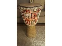 Djembe. Original African Hand made Instrument with carry case