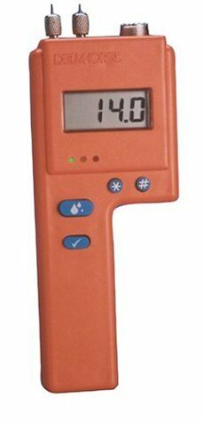 Clearance-Delmhorst 6% to 40% Digital Pin Wood and Sheetrock Moisture Meter