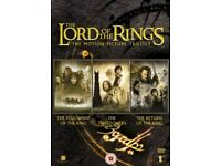 Lord of the Rings Trilogy DVD