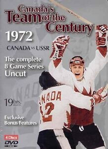 1972 CANADA vs USSR HOCKEY ALL 8 GAMES 4 DVDS 19 HRS