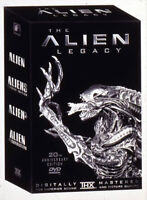 THE ALIEN LEGACY COMPLETE SET 4 CD'S BRAND NEW