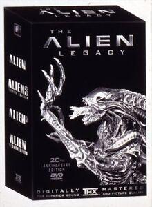 The Alien Legacy: 20th Anniversary Edition All 4 movies DVD Regina Regina Area image 1