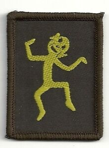 Vintage Girl Guide Brownie Badge Imp Six Emblem