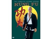 Kung Fu: The Complete Second Season, 23 Episodes [DVD] [2004] Box Set) Mint.