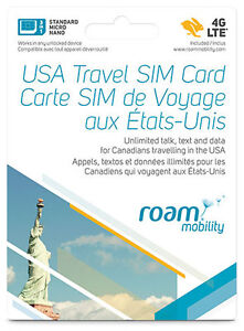 Prepaid for USA SIM Cards and  International Travellers