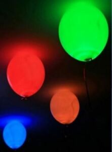 "12"" Inflatable disco light balloons( 5 for $3 or 10 for $5)"