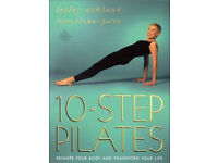 10 Step Pilates by Lesley Ackland with Thomas Paton, paperback, good condition, reshape your body