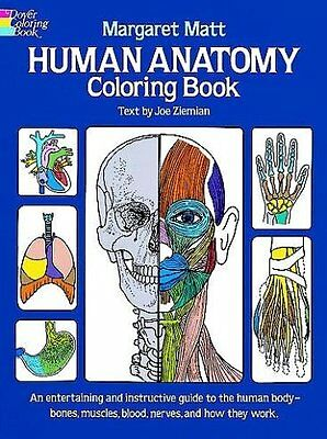 Human Anatomy Coloring Book (Dover Childrens Science Books) by Margaret Matt, J
