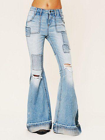 Super Flare Jeans | eBay