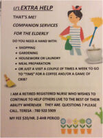"""Li'l EXTRA HELP"" Companion Services for the elderly."