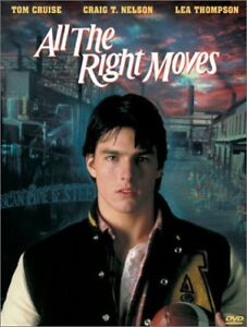 All The Right Moves-Tom Cruise-DVD-excellent conditon +