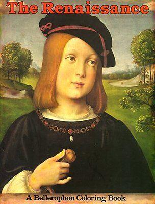 Renaissance  Bellerophon Coloring Book  By Bellerophon Books
