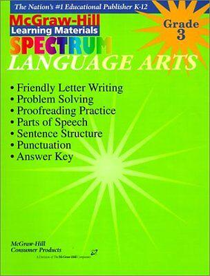 Language Arts  Grade 3  Spectrum