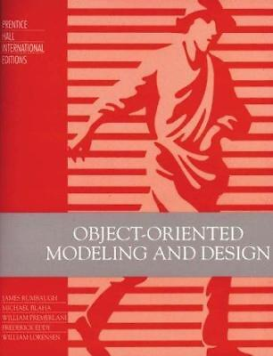 Object-oriented Modeling and Design, Rumbaugh, James R & Blaha, Michael R. &