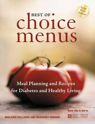 Best of Choice Menus  Meal Planning and Recipes for Diabetes and (Best Meals For Diabetics)