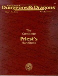 ADVANCED DUNGEONS & DRAGONS THE COMPLETE PRIEST'S HAND BOOK