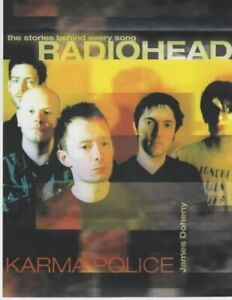 Radiohead-Karma Police large softcover book-James Denehey