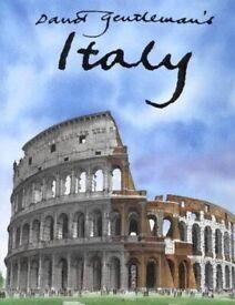 David Gentleman's Italy hardcover book. £ 10