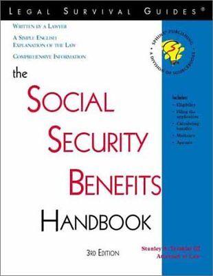 Social Security Benefits Handbook  3Rd Edition