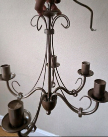 Ceiling candle chandelier