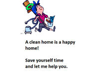 Cleaner/Housekeeper available in Orchard Park, Cambridge