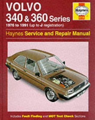 0715 Volvo 340 & 360 1976 - 1991 Haynes Service and Repair Manual