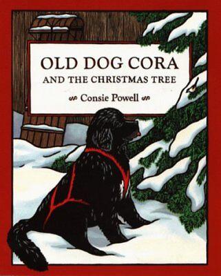 Old Dog Cora and the Christmas Tree