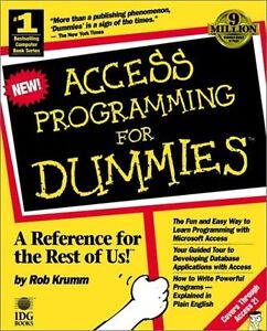 Microsoft Access Programming for Dummies