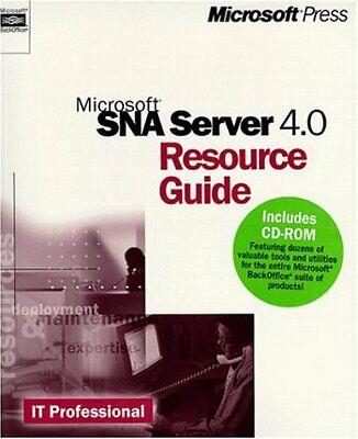 B00007FYK1 Microsoft Sna Server 4.0 Resource Guide (It-Resource -