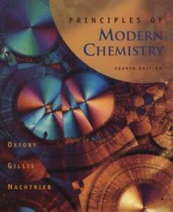 Principles in Modern Chemistry, 4th Edition, ISBN 0-03-024427-7