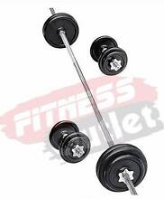 53KG BARBELL / DUMBBELL WEIGHTS REGULAR SET GYM FITNESS BARBELL Wangara Wanneroo Area Preview