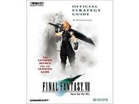 Wanted: Final Fantasy 7 and 8 Guide books