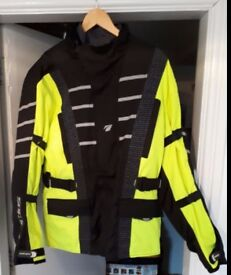 SPADA Attitude Waterproof Jacket Fluorescent/Black NEW Never Worn £49.00
