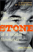 """""""Stone"""" - A Biography of Oliver Stone by James Riordan - only $3"""