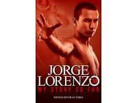 MUST GO 72 X Books - Jorge Lorenzo - My story so Far - RRP £8.99 Each