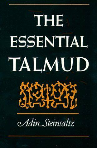 Essential Talmud By Steinsaltz, Adin