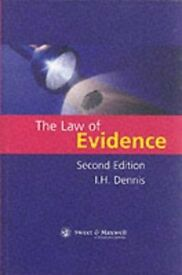 The Law Of Evidence: Second Edition