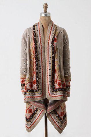 Tribal Print Cardigan: Sweaters | eBay