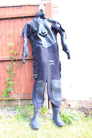 Northern Diver rbx drysuit mens xl