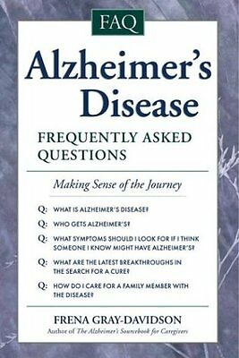 Alzheimers Disease  Frequently Asked Questions