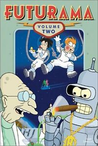 Futurama-Season 2 + Drawn Together Season 1 dvds $5 lot