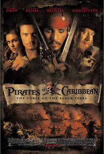 Pirates of the Caribbean The Curse of the Black Pearl (2003) VHS