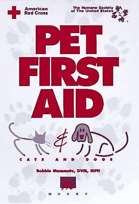 Pet First Aid  Cats  Amp  Dogs By American Red Cross