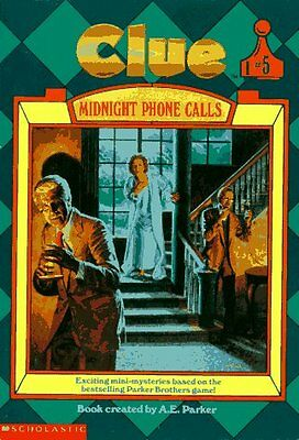 Midnight Phone Calls  Clue  Book 5  By A  E  Parker  Eric Weiner