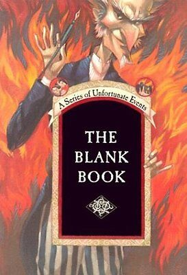 The Blank Book  A Series Of Unfortunate Events Journal  By Lemony Snicket