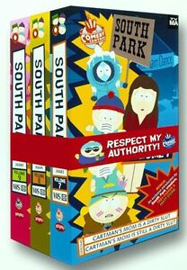 South Park - Gift Pack 3 VHS Cassettes (Volumes 7-9)